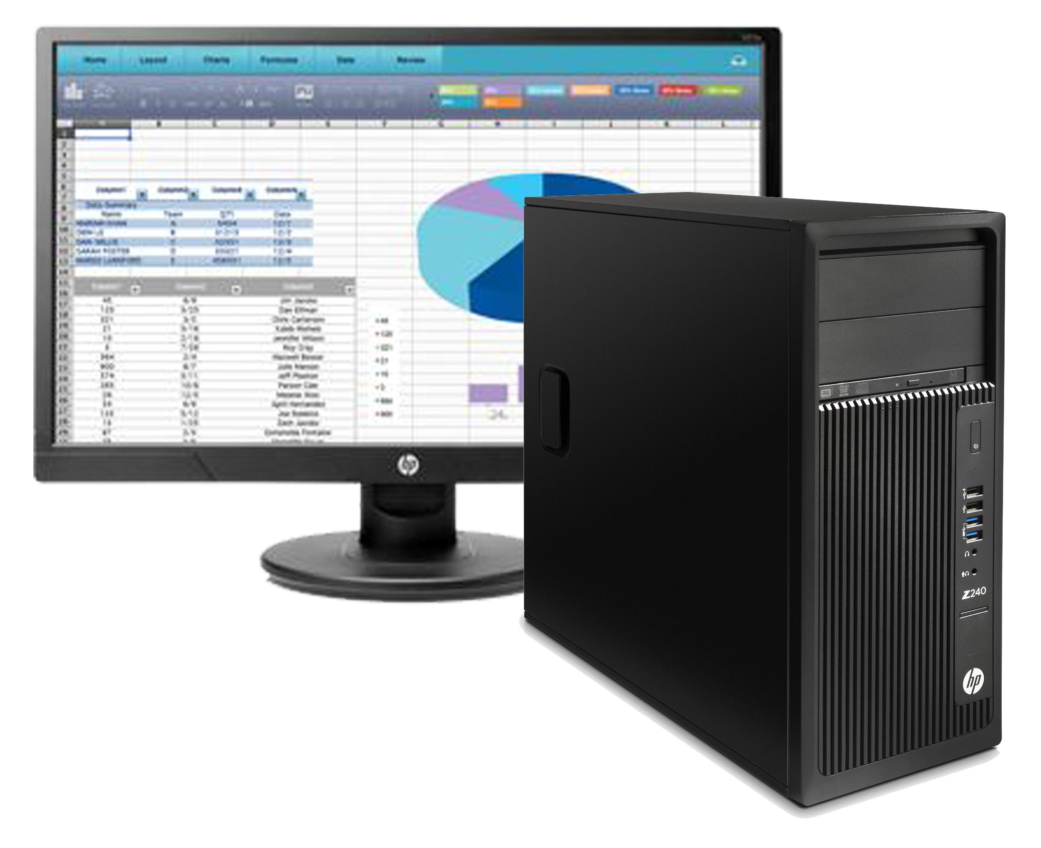 Bundle workstation hp monitor hp21 alba ufficio for Software arredamento